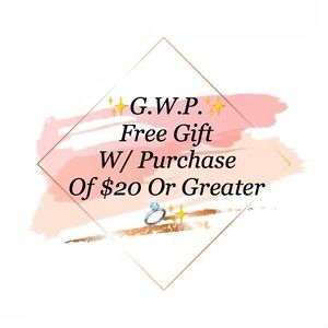 Free Gift W/ Purchase of $20+